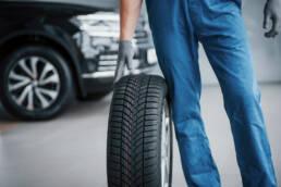 Nya däck, hjul och fälgar